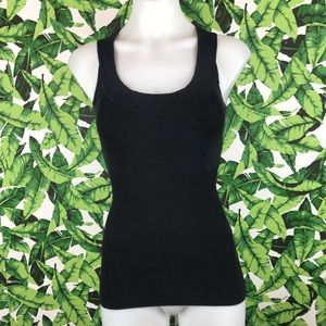 5 for $25 BCBGMAXAZRIA Black Ribbed Tank Top